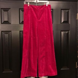 Anthropologie Worn Once Wide Wale Corduroy Size 29